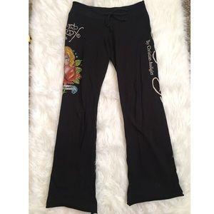 🔥30%OFF🔥Ed hardy black sweats design  m